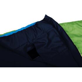Grüezi-Bag Biopod Wool World Traveller Sac de couchage Enfant, holly green